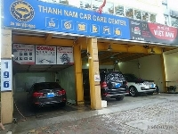 Nhà khung thép Car care center